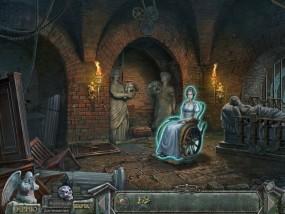 Кладбище искупления 7: Хронометр Судьбы, захоронение в подземелье, девушка в инвалидном кресле