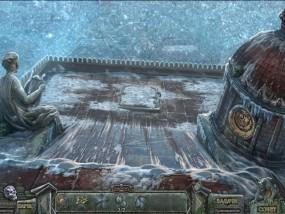Кладбище искупления 7: Хронометр Судьбы, крыша театра, крыша покрытая льдом