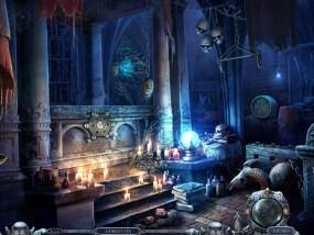 Всадники судьбы 3: Помни о смерти, фамильный склеп, надгробие, череп
