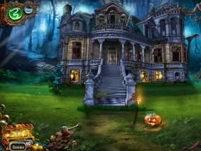 Спасти Хэллоуин: Город ведьм, обустраиваем особняк, фонарь-тыква