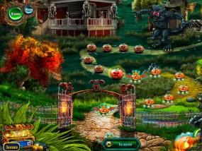 Спасти Хэллоуин: Город ведьм, выбор уровня игры
