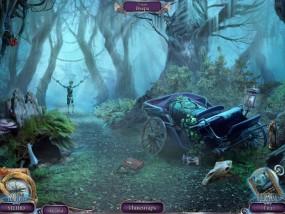 Над водой 6: Игра богов, старая карета, привязанный скелет