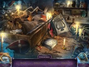 Над водой 6: Игра богов, сцена поиска предметов