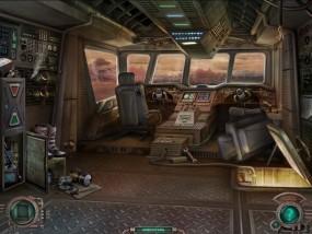 Тайна затерянной планеты, аварийная посадка космического корабля