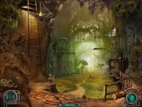 Тайна затерянной планеты, гигантские деревья, сломанная лестница