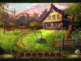 Последний Сон, заброшенный домик, газонокосилка, деревянные качели