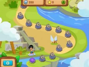 Драгоценности Ацтеков, карта уровней игры