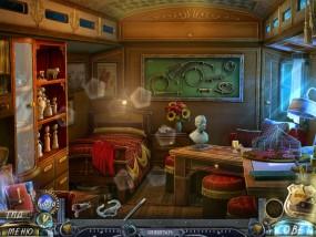 Точный расчет 3: Дело Полумесяца, вагончик укротительницы тигров, стеклянный шкаф