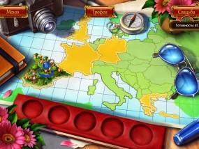 Все в сад 3: Свадебная гонка, карта игры