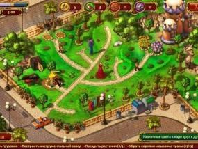 Все в сад 3: Свадебная гонка, посадите растения, дорожки, грузовик