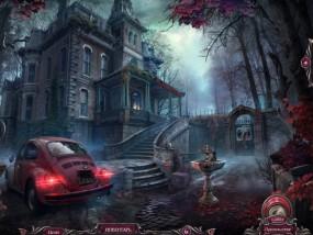 Проклятый отель 10: Час Х, заброшенный дом, красный автомобиль