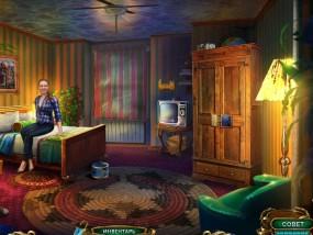 Загадочные истории 2: Сумеречный мир, номер отеля, шкаф для одежды, включенный торшер