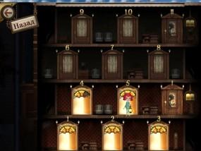 Комнаты 2: Неразрешимая загадка, выбор уровня игры
