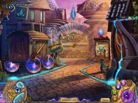 Таинственные сказки 2: Месть Теней, вход в город, деревянный вагончик