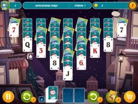 Пасьянс Пары: Новый год, логические игры