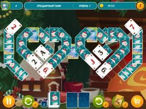 Пасьянс Пары: Новый год, логические игры, настольные