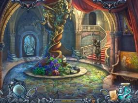 Тайны духов 5: Узы клятвы, холл замка, спящий страж, парадная лестница