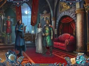 Тайны духов 5: Узы клятвы, кабинет короля, король и принцесса, красный диван