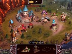 Дальние королевства 4: Эпоха пасьянса, карта построек