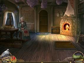 Дальние Королевства, домик ведьмы, каменный камин