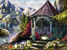 Дальние Королевства, горная беседка, горы в тумане